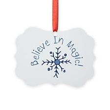 Magic Snowflake Ornament