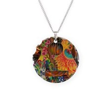 pheonix-print Necklace