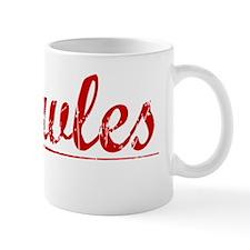Knowles, Vintage Red Mug