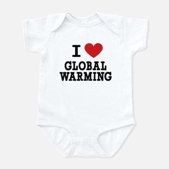 I Love Global Warming Infant Bodysuit