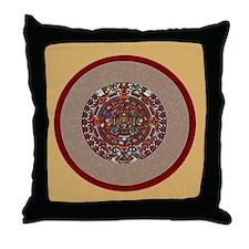 Aztec Calendar- Throw Pillow