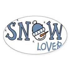 Snow Lover Decal