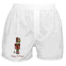Holiday Nut Cracker Boxer Shorts