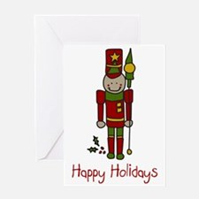 Holiday Nut Cracker Greeting Card