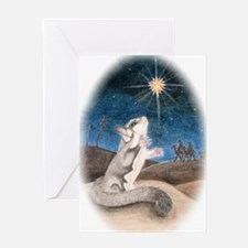 Following the star Greeting Card