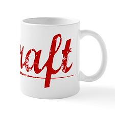 Kraft, Vintage Red Mug
