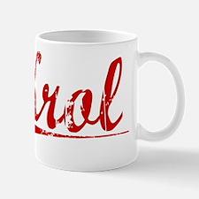Krol, Vintage Red Mug