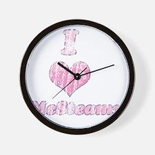 Vintage I heart McSteamy 2 Wall Clock