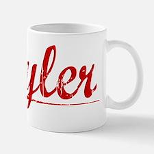 Kyler, Vintage Red Mug
