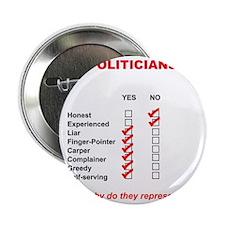"Politician List 2.25"" Button"