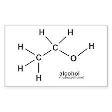 Alcohol Rectangle Decal