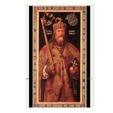 Emperor Charlemagne Postcards (Package of 8)