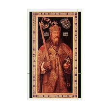 Emperor Charlemagne Decal