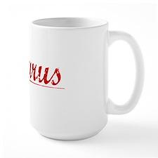 Lazarus, Vintage Red Mug