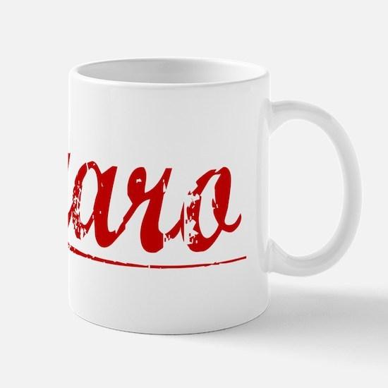 Lazaro, Vintage Red Mug