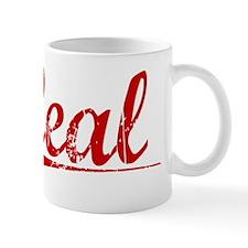 Leal, Vintage Red Mug