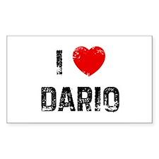 I * Dario Rectangle Decal