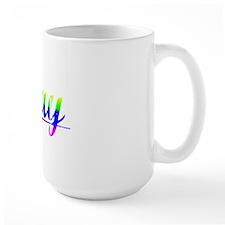 Cray, Rainbow, Mug