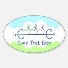 CUSTOMIZE Cross Country Running Decal
