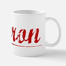 Lebron, Vintage Red Mug