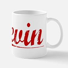 Levin, Vintage Red Mug