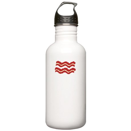 keep-calm-bacon-funny Stainless Water Bottle 1.0L
