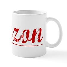 Lauzon, Vintage Red Mug