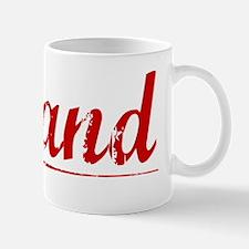 Leland, Vintage Red Mug