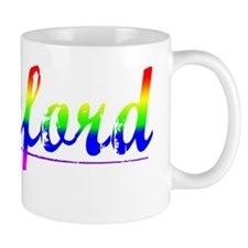 Cranford, Rainbow, Mug