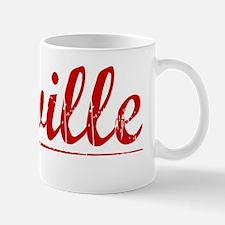 Linville, Vintage Red Mug