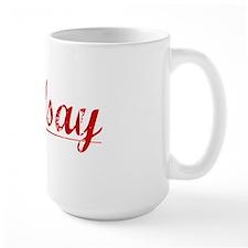Lindsay, Vintage Red Mug