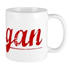 Logan, Vintage Red Small Mug