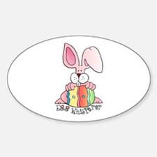 Egg Whisperer Oval Decal