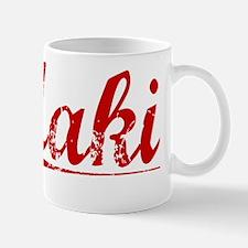Maki, Vintage Red Mug