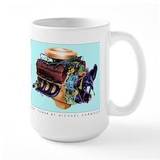 Detroit Iron Oversize Coffee Mug