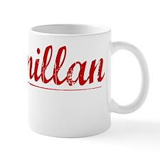 Macmillan, Vintage Red Mug