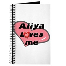 aliya loves me Journal
