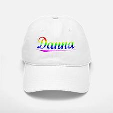 Danna, Rainbow, Baseball Baseball Cap