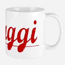 Maggi, Vintage Red Mug