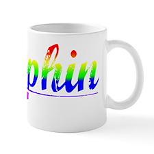Dauphin, Rainbow, Mug