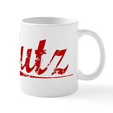 Lutz, Vintage Red Mug