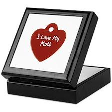 Love My Mutt Keepsake Box