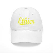 Ethier, Yellow Baseball Cap