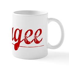 Magee, Vintage Red Mug