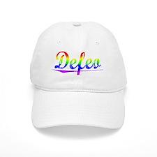 Defeo, Rainbow, Baseball Cap