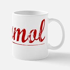 Marmol, Vintage Red Mug