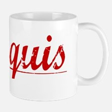 Marquis, Vintage Red Mug