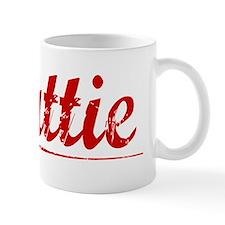Mattie, Vintage Red Mug