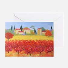 Vines Painting Greeting Card