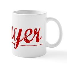 Mayer, Vintage Red Mug